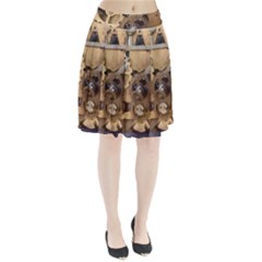 Hazy Time Pleated Skirt