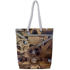 Hazy Time Full Print Rope Handle Tote (small)