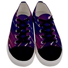 Meteor Shower Men s Low Top Canvas Sneakers