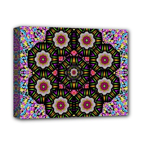 Decorative Ornate Candy With Soft Candle Light For Peace Deluxe Canvas 14  X 11  (stretched) by pepitasart