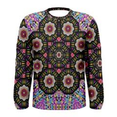 Decorative Ornate Candy With Soft Candle Light For Peace Men s Long Sleeve Tee
