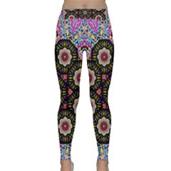 Decorative Ornate Candy With Soft Candle Light For Peace Classic Yoga Leggings