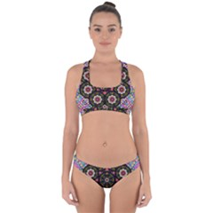 Decorative Ornate Candy With Soft Candle Light For Peace Cross Back Hipster Bikini Set