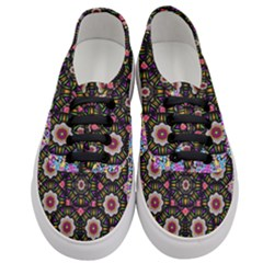 Decorative Ornate Candy With Soft Candle Light For Peace Women s Classic Low Top Sneakers