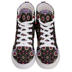 Decorative Ornate Candy With Soft Candle Light For Peace Women s Hi Top Skate Sneakers