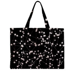 Constellations Zipper Mini Tote Bag