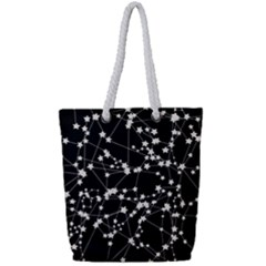 Constellations Full Print Rope Handle Tote (small) by snowwhitegirl