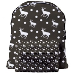 Deer Dots Brown Giant Full Print Backpack