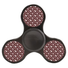 Deer Dots Red Finger Spinner by snowwhitegirl