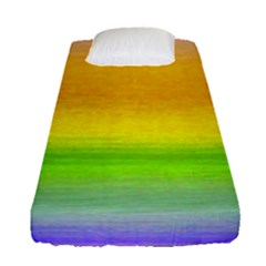 Ombre Fitted Sheet (single Size)