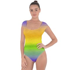 Ombre Short Sleeve Leotard