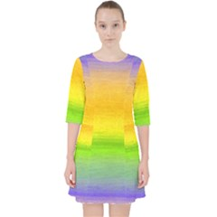 Ombre Pocket Dress