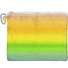 Ombre Canvas Cosmetic Bag (xxxl) by Valentinaart