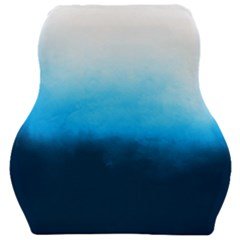 Ombre Car Seat Velour Cushion  by Valentinaart