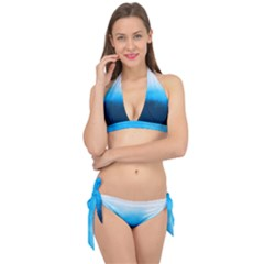 Ombre Tie It Up Bikini Set