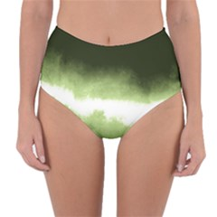 Ombre Reversible High Waist Bikini Bottoms