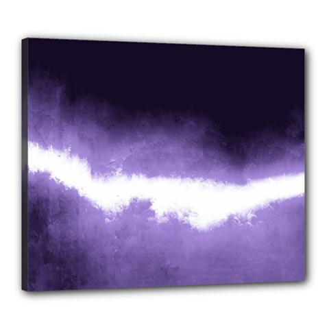 Ombre Canvas 24  X 20  (stretched)