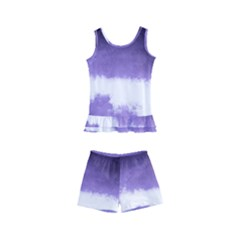 Ombre Kid s Boyleg Swimsuit