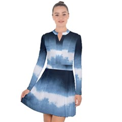 Ombre Long Sleeve Panel Dress by Valentinaart