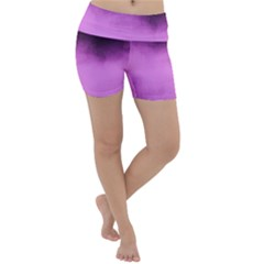 Ombre Lightweight Velour Yoga Shorts by Valentinaart