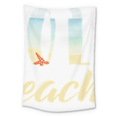 Hola Beaches 3391 Trimmed Large Tapestry