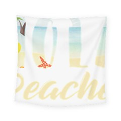 Hola Beaches 3391 Trimmed Square Tapestry (small)