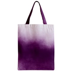 Ombre Zipper Classic Tote Bag by Valentinaart
