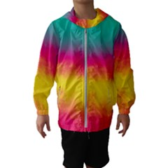 Ombre Hooded Windbreaker (kids)