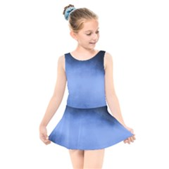 Ombre Kids  Skater Dress Swimsuit by Valentinaart