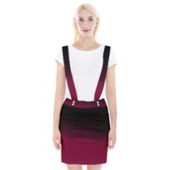 Ombre Braces Suspender Skirt