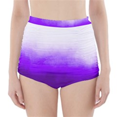 Ombre High Waisted Bikini Bottoms