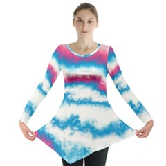 Ombre Long Sleeve Tunic