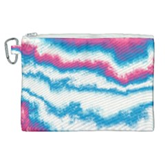 Ombre Canvas Cosmetic Bag (xl) by Valentinaart