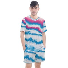 Ombre Men s Mesh Tee And Shorts Set