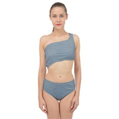 Concentration Spliced Up Two Piece Swimsuit