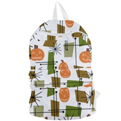 Halloween Mid Century Modern Foldable Lightweight Backpack by KayCordingly