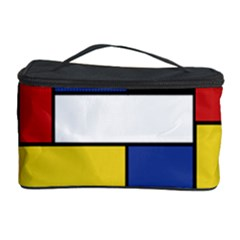 Mondrian Geometric Art Cosmetic Storage
