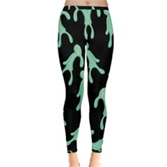 Bold And Brash Pattern Inside Out Leggings by Valentinaart