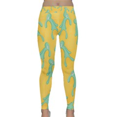 Bold And Brash Pattern Classic Yoga Leggings