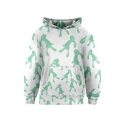 Bold And Brash Pattern Kids  Pullover Hoodie