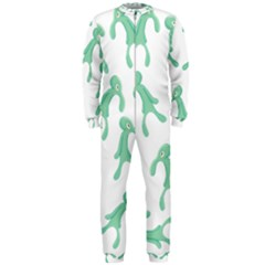 Bold And Brash Pattern Onepiece Jumpsuit (men)