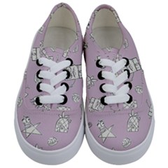 Doodle Bob Pattern Kids  Classic Low Top Sneakers