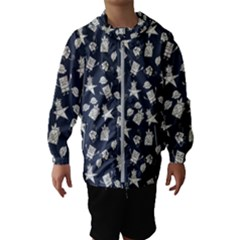 Doodle Bob Pattern Hooded Windbreaker (kids)