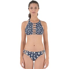 Doodle Bob Pattern Perfectly Cut Out Bikini Set