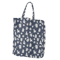Doodle Bob Pattern Giant Grocery Tote