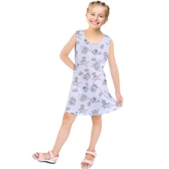 Doodle Bob Pattern Kids  Tunic Dress