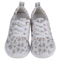 Doodle Bob Pattern Kids  Lightweight Sports Shoes