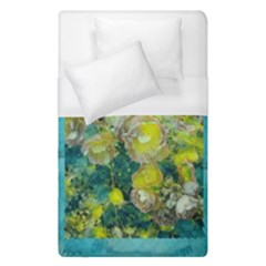 Bloom In Vintage Ornate Style Duvet Cover (single Size) by pepitasart