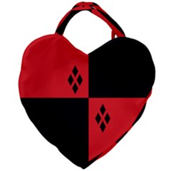Harley Giant Heart Shaped Tote by raeraeshescrafty