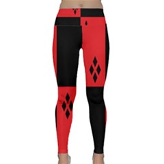 Harley Lightweight Velour Classic Yoga Leggings by raeraeshescrafty